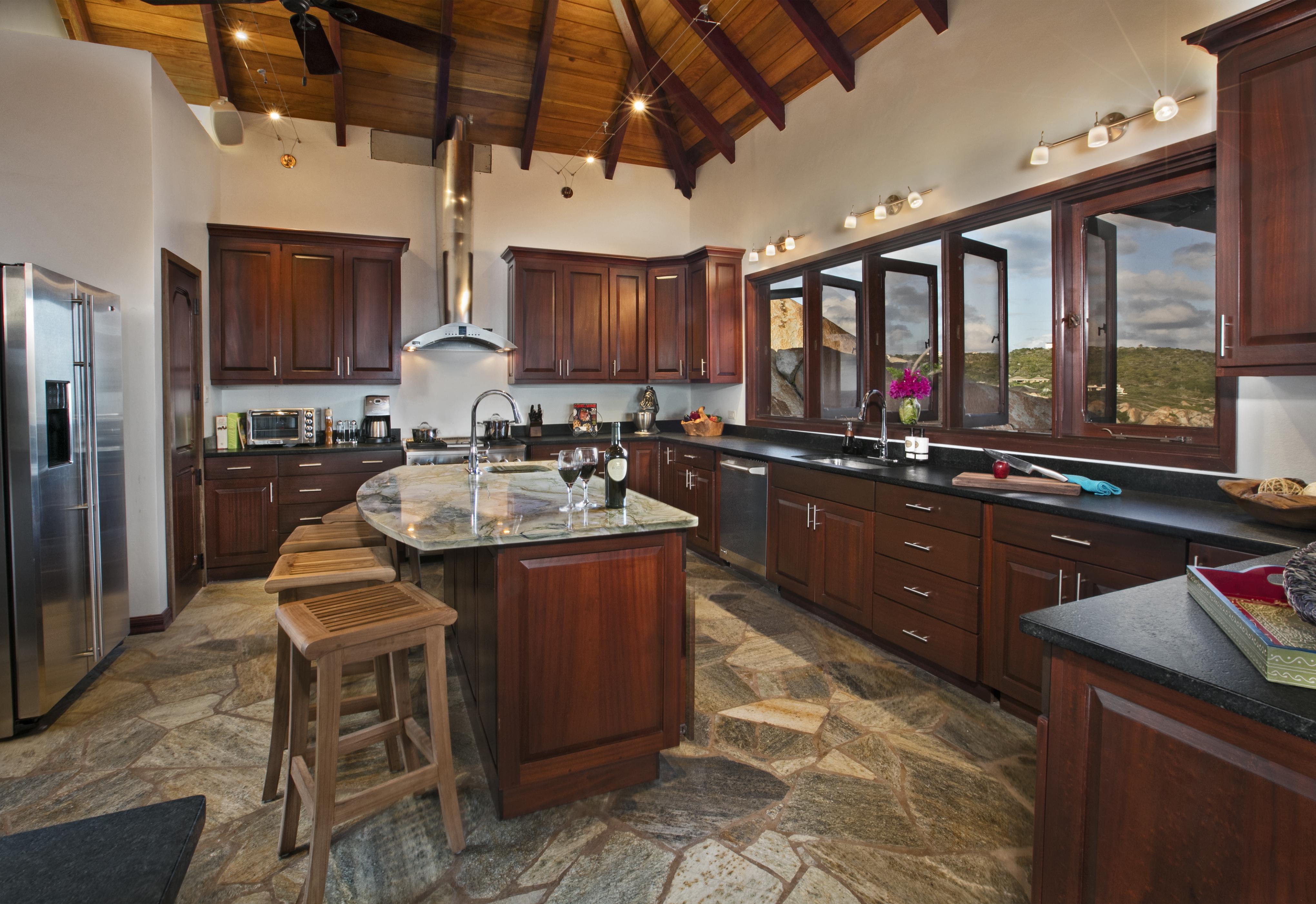 Batu Villa Kitchen