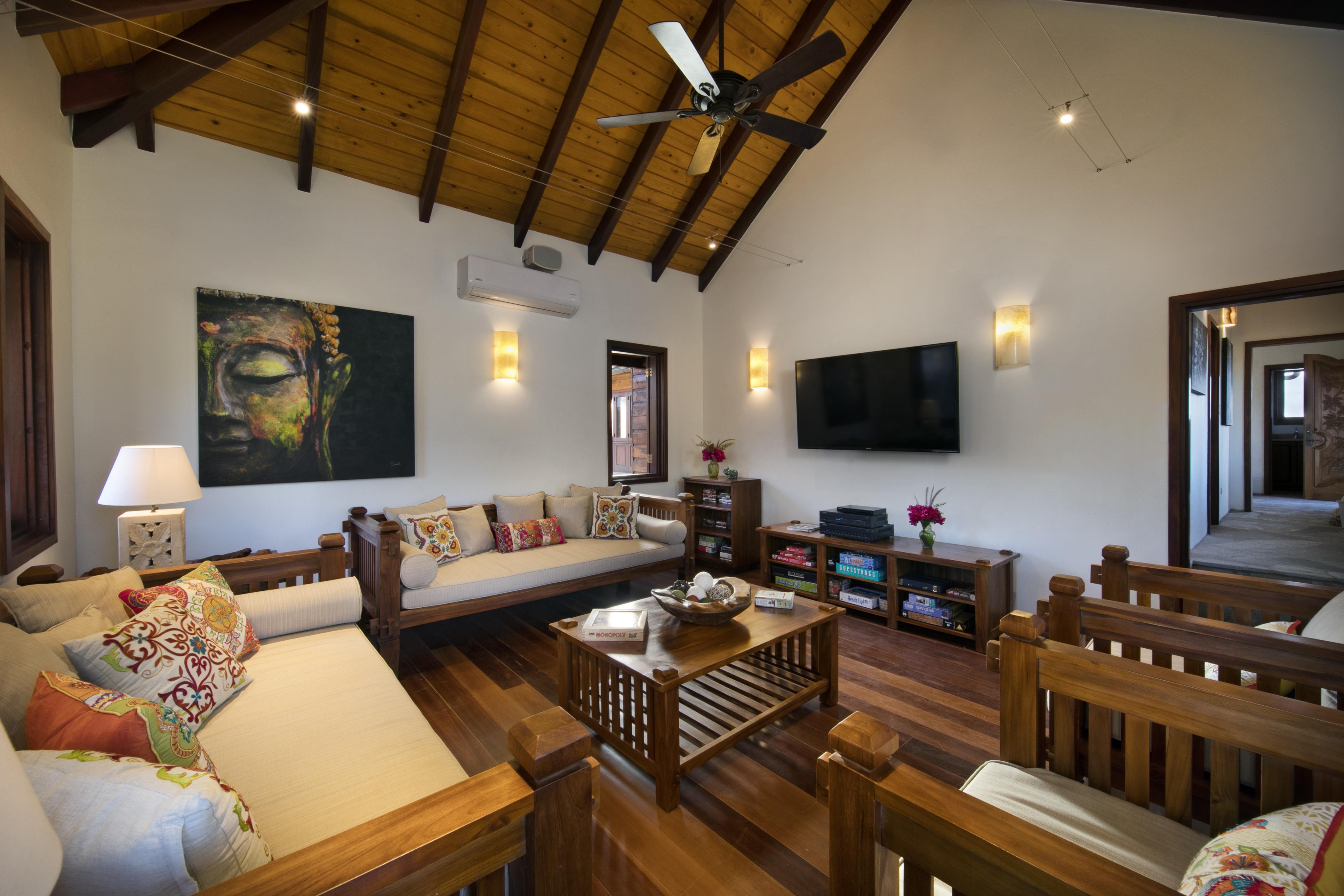 Batu Villa Entertainment Room